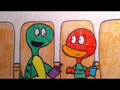 Waddle on the Michael Bay Alien Ninja Turtles Conspiracy