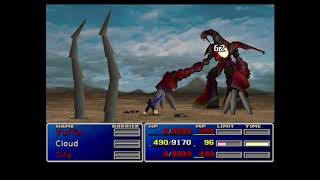 Final Fantasy VII: Ruby Weapon (End Game Optional Boss)