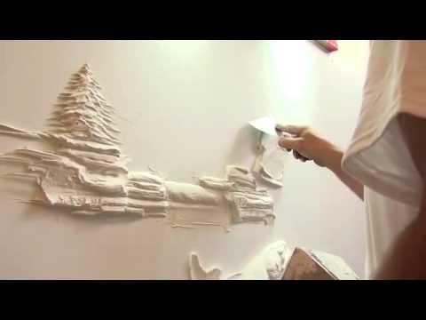 Alçıpan Duvar Dekorasyonu Örnekleri ( Alçıpan Duvarlara Dekor Uygulaması )