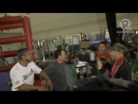 Freddie Roach Attacked by Alex Ariza in a Gym in Macau