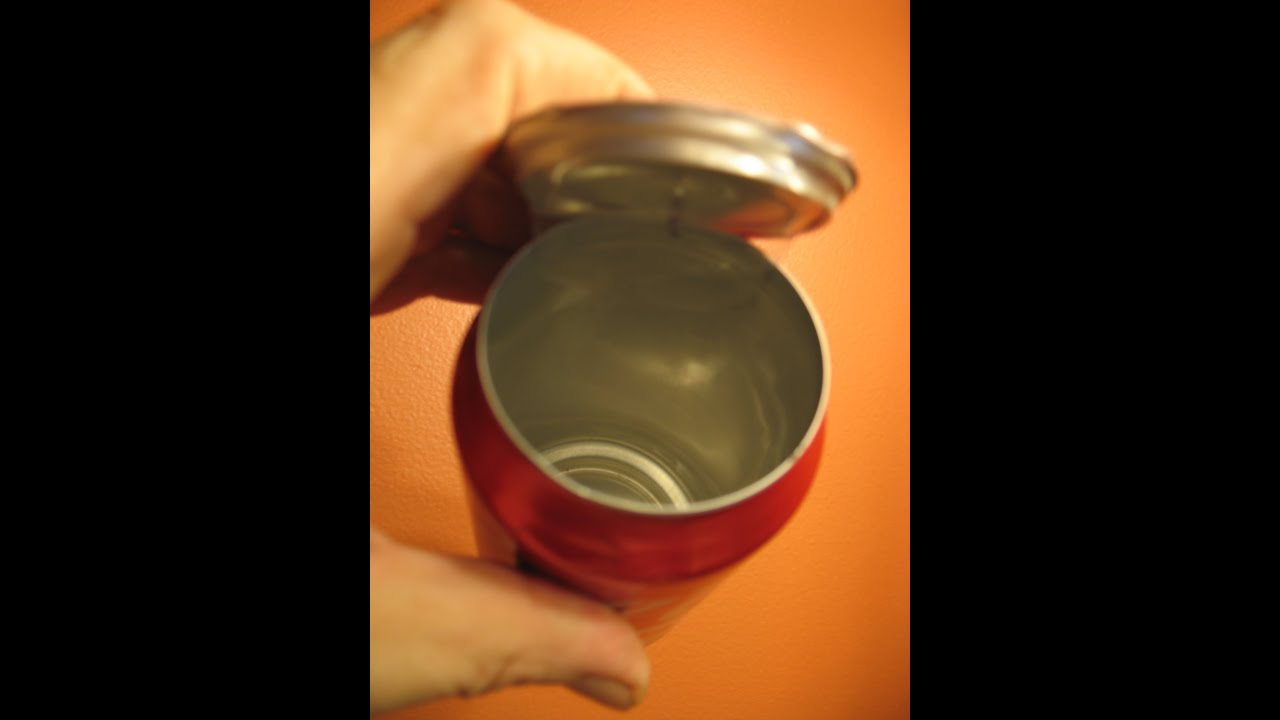 Is It Safe To Drink Out Of An Aluminum Can