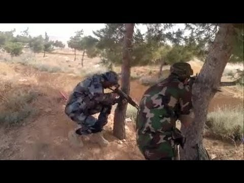 Shia Militants In Action On Syria Battlefield Compilation | Syrian Civil War