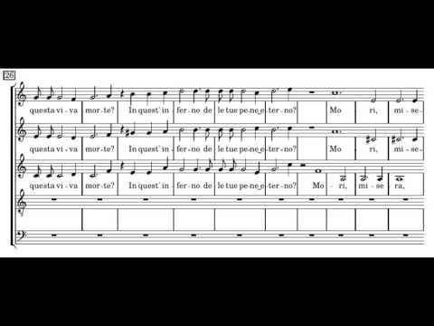 Монтеверди Клаудио - Anima dolorosa