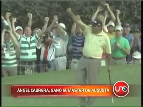 Ángel Cabrera ganó el Master de Augusta