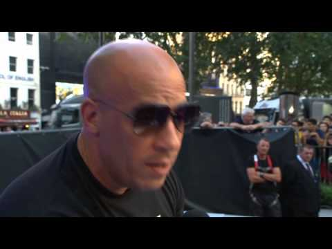 Guardians of the Galaxy European Premiere: Vin Diesel