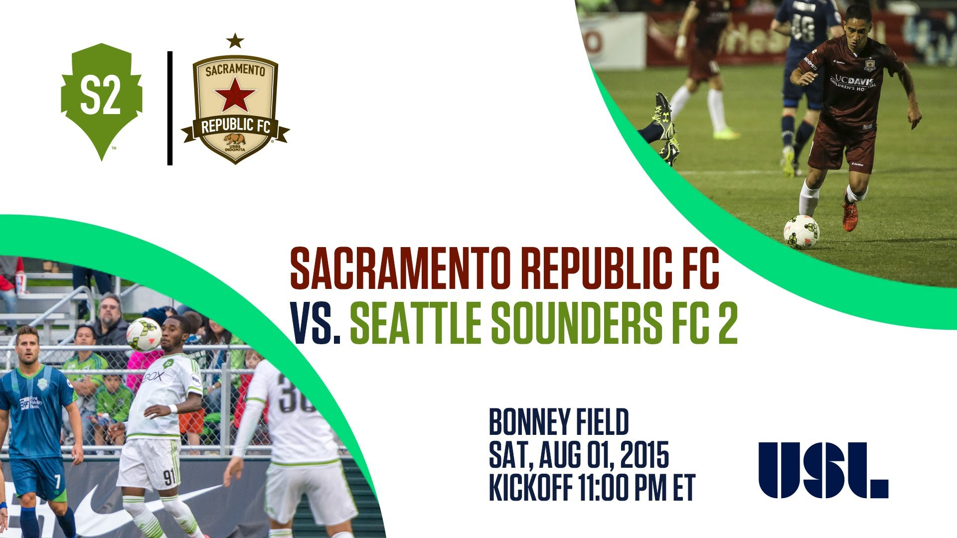 Sacramento Republic FC vs Seattle Sounders FC 2 8.1.15