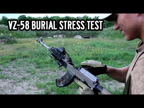 VZ-58 Burial Stress Test + Giveaway!