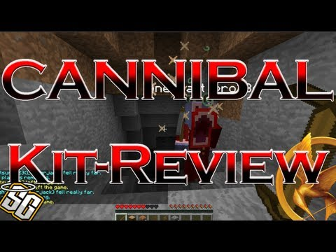 MCPVP.com   Review #30 CANNIBAL Kit Review   Minecraft Hunger Games