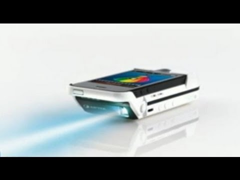 This case turns your iphone into a projector youtube for Projector that works with iphone