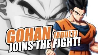 Gohan adulto también será luchador