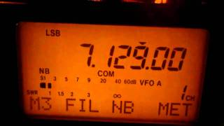 VK4HJG/VK6MAD  Icom 703 QRP 5 WATTS/ Miracle Whip/ Gold Coast to California