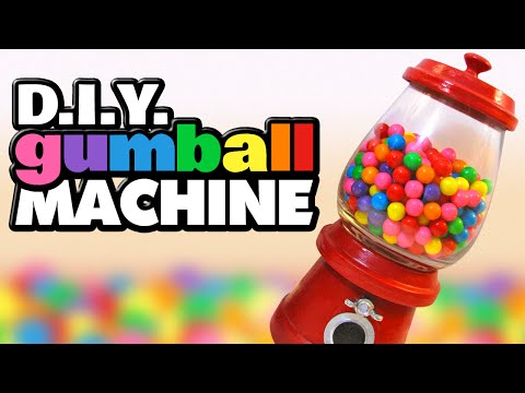 How To Make A Decorative Gumball Machine