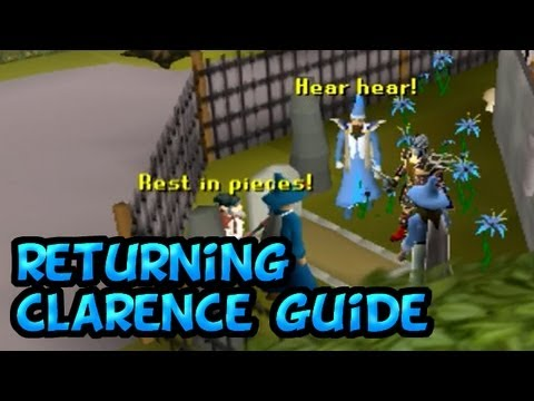 RuneScape Returning Clarence Mini-quest Guide