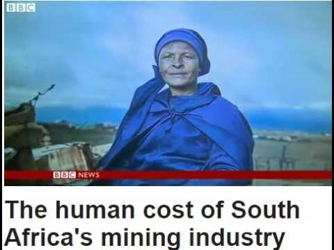 The human cost of South Africa's mining industry