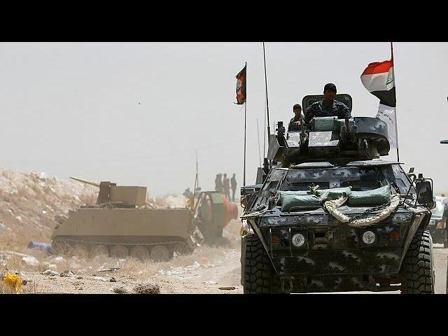 Mapa estratégico de la ofensiva contra el Dáesh en Siria e Irak