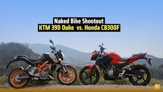 KTM 390 Duke vs. Honda CB300F