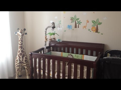 Safari Themed Baby Nursery Tour