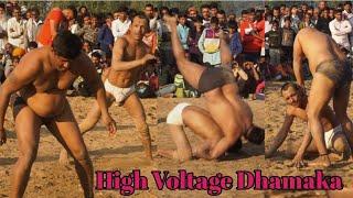 Sonu Pehlwan Ka High Voltage Dhamaka Sadhaura Roza Pir Mela Kushti Dangal 2018