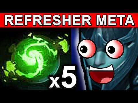 REFRESHER PHANTOM ASSASSIN DOTA 2 PATCH 7.06 NEW META FUNNY GAMEPLAY