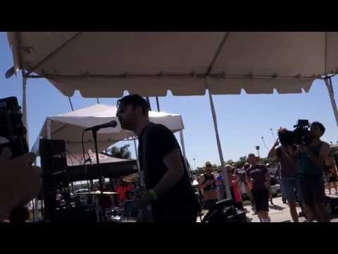 Shiny Toy Guns - Rainy Monday LIVE HD (2013) KROQ Santa Anita Park
