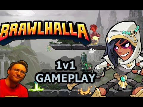 BRAWLHALLA GAMEPLAY - 1v1 Matchups - Watch My Learning Progression!