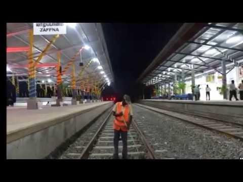 SRI LANKA'S-COLOMBO-Jaffna RAILWAY TO REOPEN-BREAKING NEWS 2014