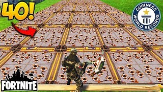 40 SPIKE TRAPS IN 1 SPOT! - Fortnite Funny Fails and WTF Moments! #143 (Daily Moments)