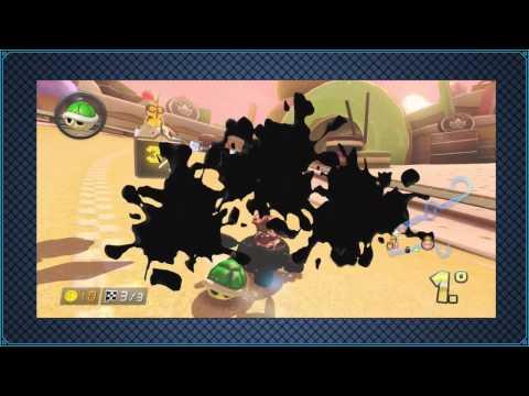 Wii U l Mario Kart 8 l Online l # 35 l ¡¡¡ QUE MALA SUERTE POR DIOS !!!
