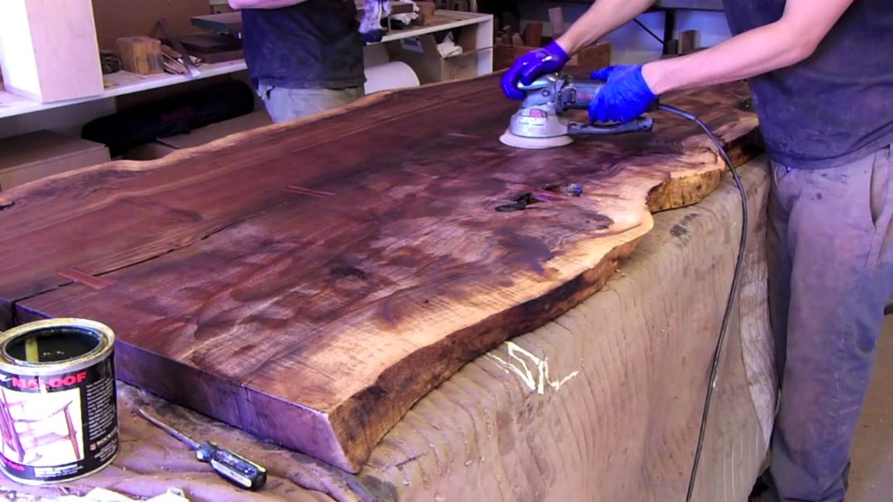 Hand Rubbed Oil Finish Wood Hand Rubbed Oil Finishing