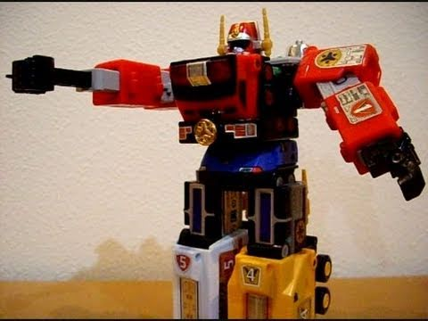 Deluxe Lightspeed Megazord - CollectionDX