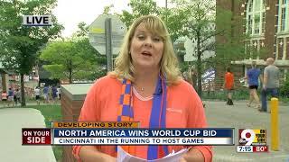 North America wins World Cup bid