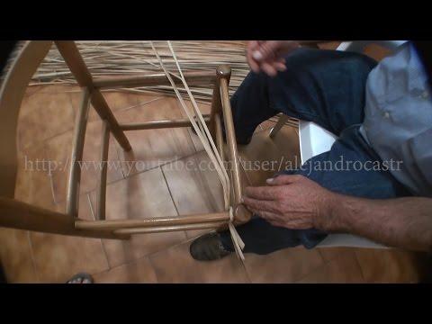 Trenzado de anea con sillas 1.2 parte