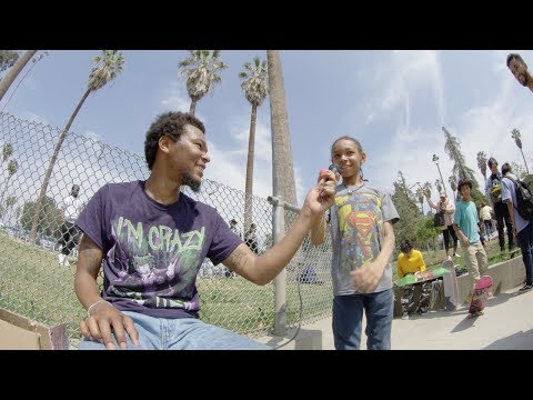 A Day with Na-Kel Smith : Lincoln Skate Jam