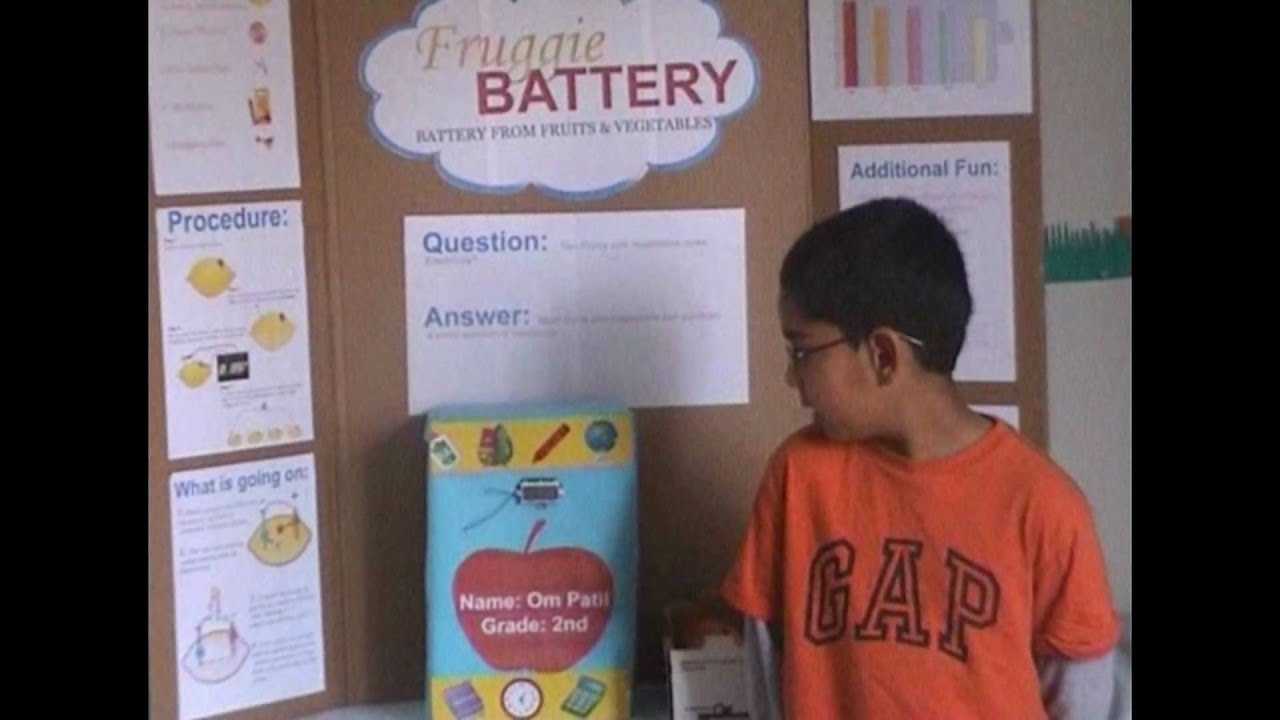 Hypothesis for fruit battery science project