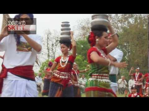 Chakma Biju Mela April 2012 In Rangamadtya City (rangamati) Of Jumland video