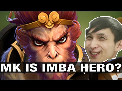 MK IS IMBA HERO? SingSing Plays Monkey King With Echo Sabre BF - Dota 2