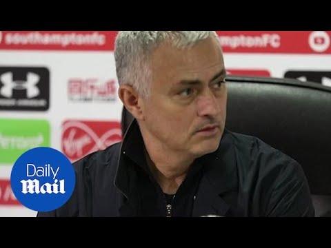 Southampton 2-2 Man United: Mourinho post-match press conference
