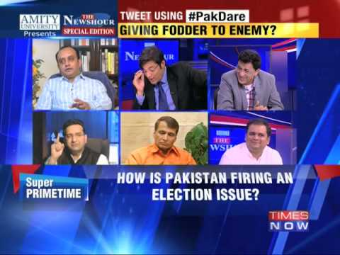 The Newshour Debate: How is Pakistan firing an election issue? (8th Oct 2014)