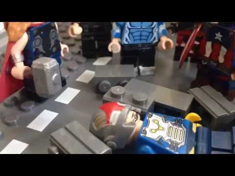 Lego Avengers vs X-Men: part 1