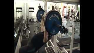 Gym Training for shot put