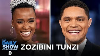 Zozibini Tunzi - Becoming Miss Universe and Fighting Gender-Based Violence | The Daily Show