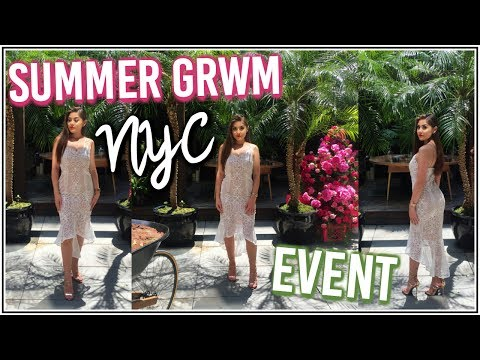 GRWM: NYC Beauty Event in a $35.5 Million House ♡