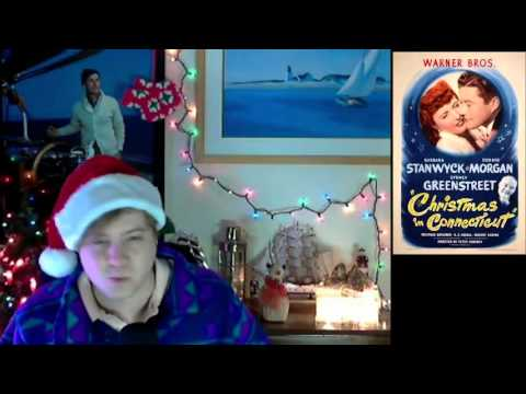 """""""Christmas In Connecticut"""" 1945 Movie Review Episode #42"""