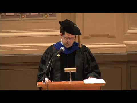 Tepper Diploma Ceremony Keynote Speaker 2009