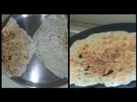 How to make instant rice flour dosa||2 varieties of rice flour dosa in telugu||mana inty tip's