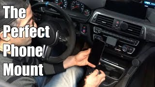 V76: The best Cell Phone Mount for my BMW!