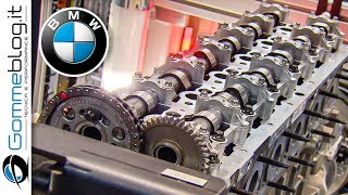BMW Diesel ENGINE - Car Factory Production Assembly Line