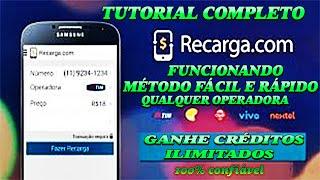 Créditos No Celular de Graça com Recarga.com RECARGAPAY ( ATÉ MARÇO 2017)