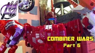 Transformers Stop Motion [Combiner Wars]Pt 6 Computron vs Galvatronus