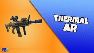 Thermal Scoped Assault Rifle First Look! | Fortnite New Weapon!
